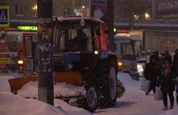 Трактор лишился колеса вПриморском районе