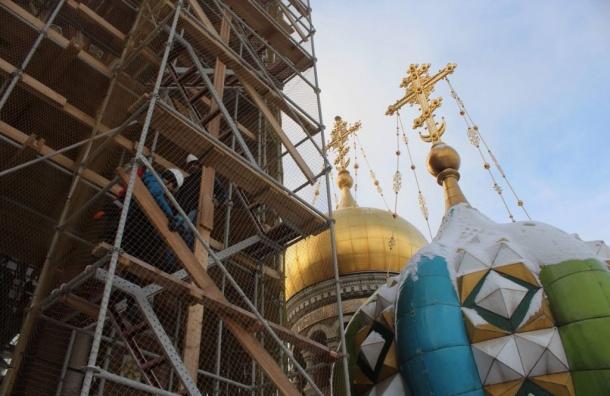Спас наКрови вПетербурге закончат реставрировать к 2025-ому году