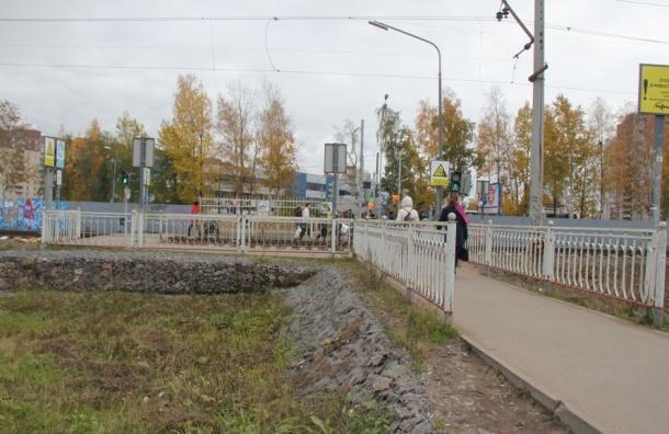 Смольный думает осоздании подземного перехода через железную дорогу иПриморский проспект