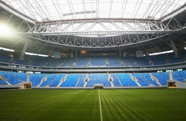 Комиссия FIFA осталась довольна стадионом «Санкт-Петербург»