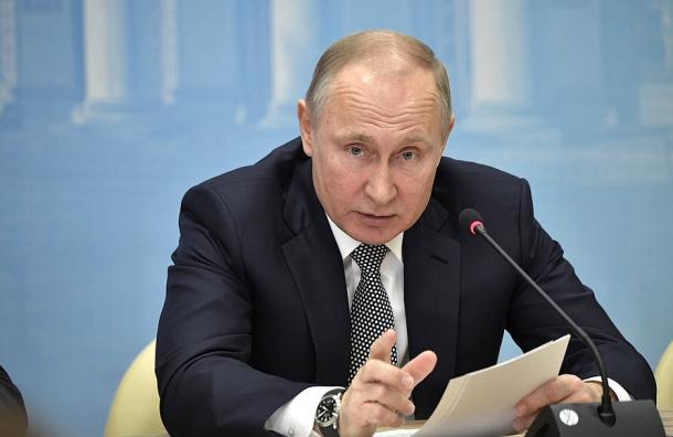 Путин рассказал, что Ломоносов шел «пешком доПетербурга»