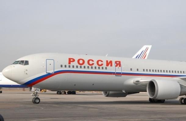 Пассажиропоток авиакомпании «Россия» вПетербурге вырос на17%