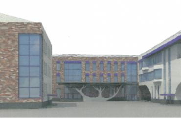 Недостроенной школе вПриморском районе потребовалась машина