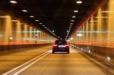 Закрыт туннель всторону Кронштадта