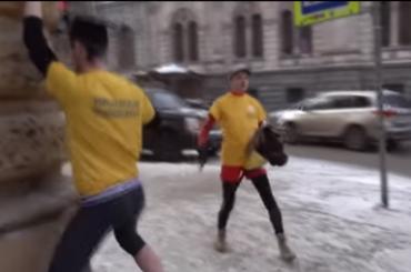 Студенты петербургского университета станцевали под Satisfaction