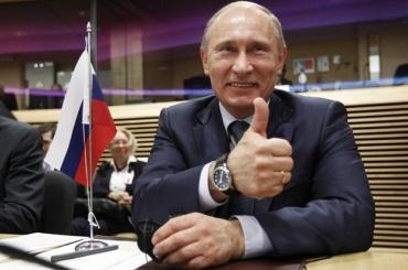 Путин: поитогам 2017 года ВВП вырос на1,4%