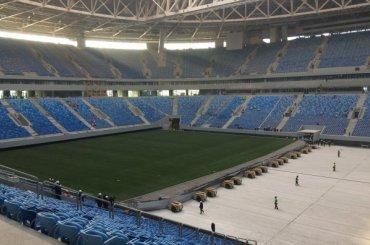 «Санкт-Петербург Арена» получила новый газон