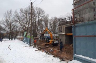 Градозащитники заявили опродолжении строительства впарке Александрино