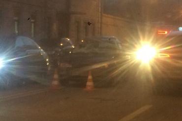 Иномарка сбила пешехода наПионерской улице