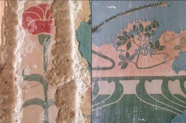 Уникальную роспись обнаружили при ремонте впетербургской квартире