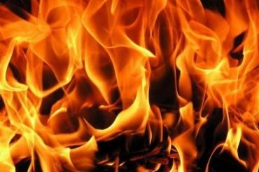 Квартиру вВыборгском районе тушили 15 человек