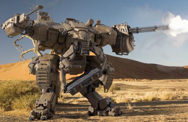 Росгвардия планируют принять навооружение боевых роботов