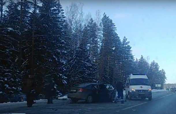 Автомобилистка погибла вДТП на«Скандинавии»