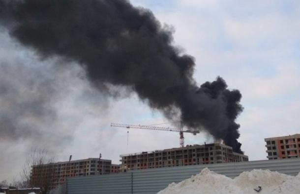 Пожар вновостройке тушили наФрунзенской