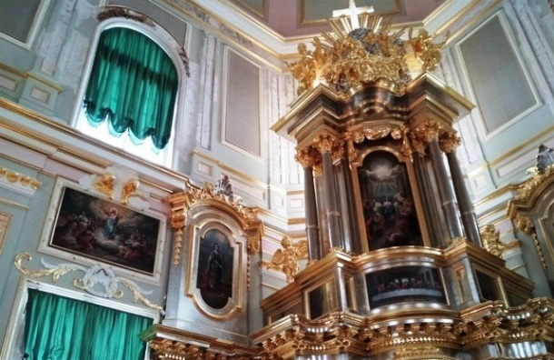 Летом вОраниенбауме откроют церковь Меншикова