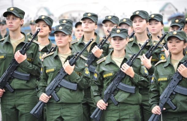 Военная кафедра для девушек открылась вПетербурге