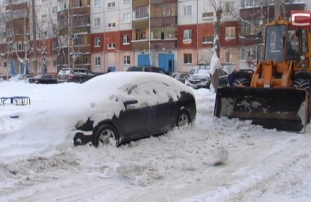 Ради уборки снега вПетербурге могут поменять правила парковки