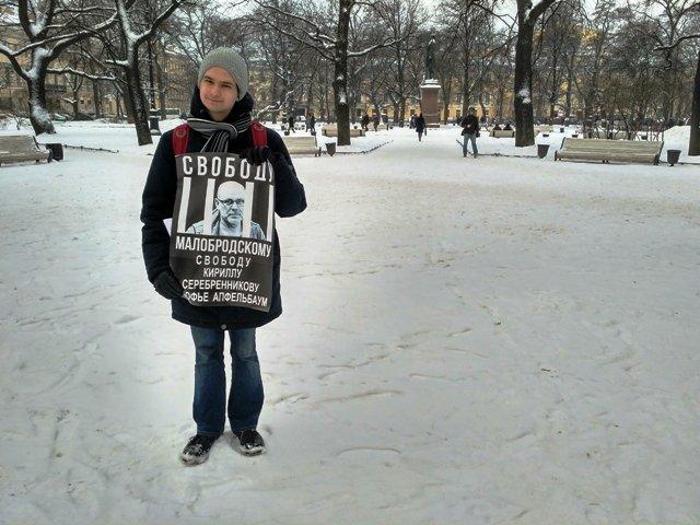 Студент Кирилл Девотченко.