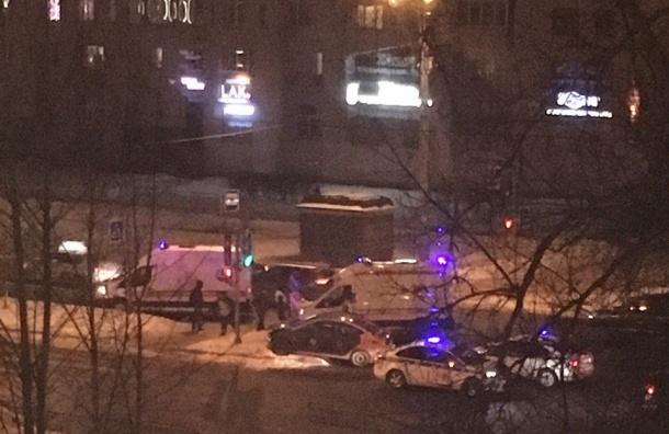 Две иномарки столкнулись вПриморском районе