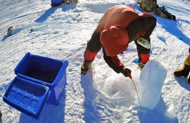 Петербургские ученые нашли древнейший вмире лед