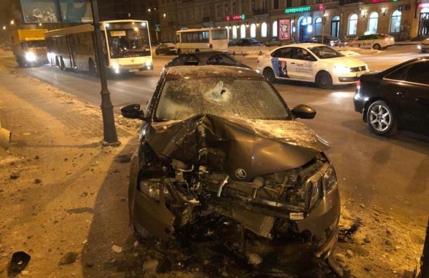 Полиция устроила погоню запьяным водителем наБронницкой
