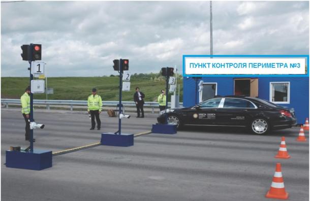 Крестовский закроют для машин навремя ЧМ-2018
