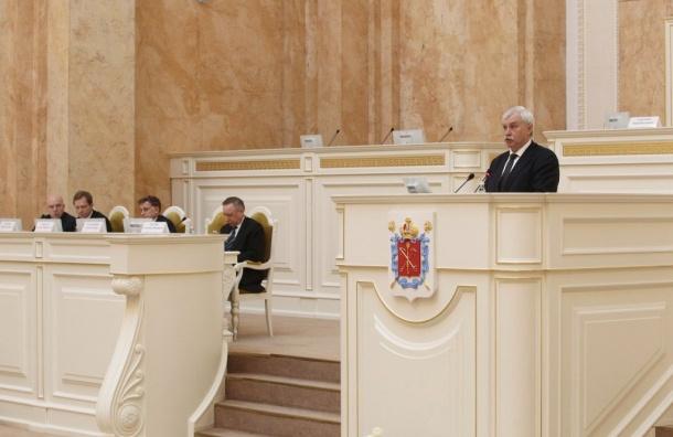 Полтавченко: средняя зарплата вПетербурге 54 тысячи рублей
