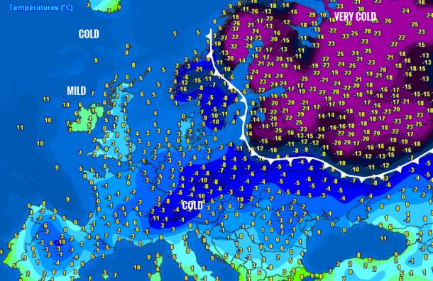 Главный синоптик Петербурга: российские холода вторгаются вЕвропу