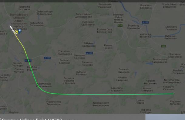ВПодмосковье разбился пассажирский самолет