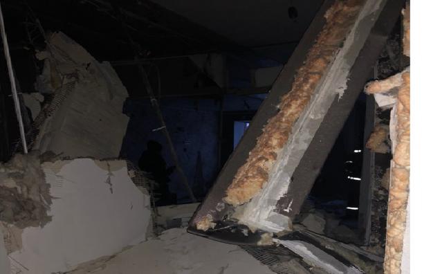 Опубликованы фото дома наРепищева после взрыва