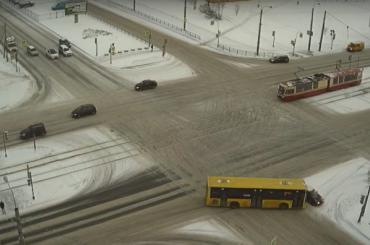 Автобус попал ваварию вПриморском районе