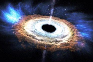 Чёрные дыры способны «обнулять прошлое»