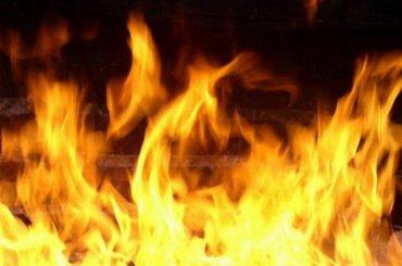 Пожар уничтожил квартиру наШвейцарской улице