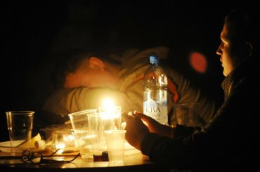 Центральный район Петербурга ночью остался без электричества