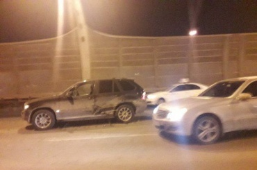 Массовая авария заблокировала участок ЗСД