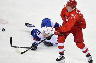 Сборная России похоккею вышла вполуфинал Олимпиады