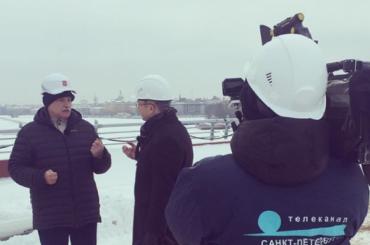 «Мынестроим, мы— сохраняем»: тезисы интервью Полтавченко