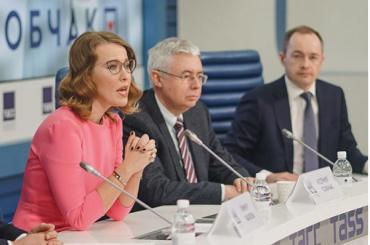 Собчак отказывается отдолжности губернатора Петербурга