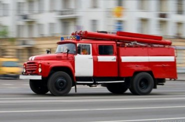 Пожар вСестрорецке тушили почти час