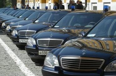Чиновников предлагают лишить служебных автомобилей