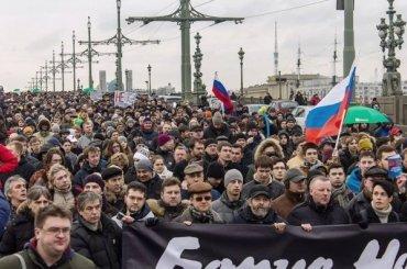 Смольный несогласовал акцию памяти Немцова на25февраля