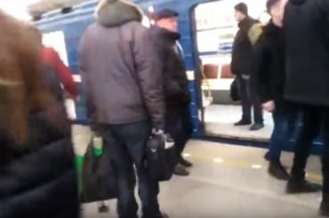 Пассажиры метро подрались ввагоне