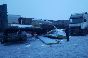 Пострадавших вмассовой аварии наКАД забирал вертолет