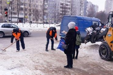 Более 1,5 млн кубометров снега пропало спетербургских улиц сначала зимы
