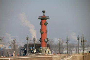 Ростральные колонны зажгут вчесть китайского Нового года