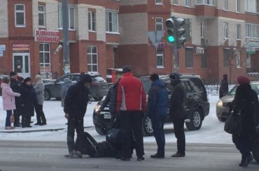Сбили пешехода напроспекте Ветеранов