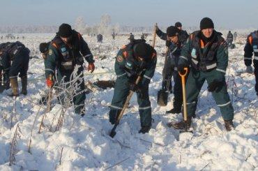 Зону поиска наместе падения АН-148 увеличили