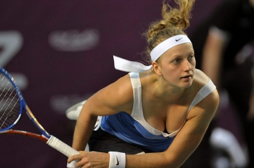 Квитова обыграла Остапенко вчетвертьфинале турнира вПетербурге
