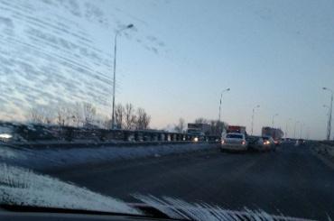 Массовое ДТП произошло наМитрофаньевском шоссе