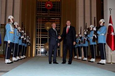 Путин вместе сЭрдоганом поговорили оСирии